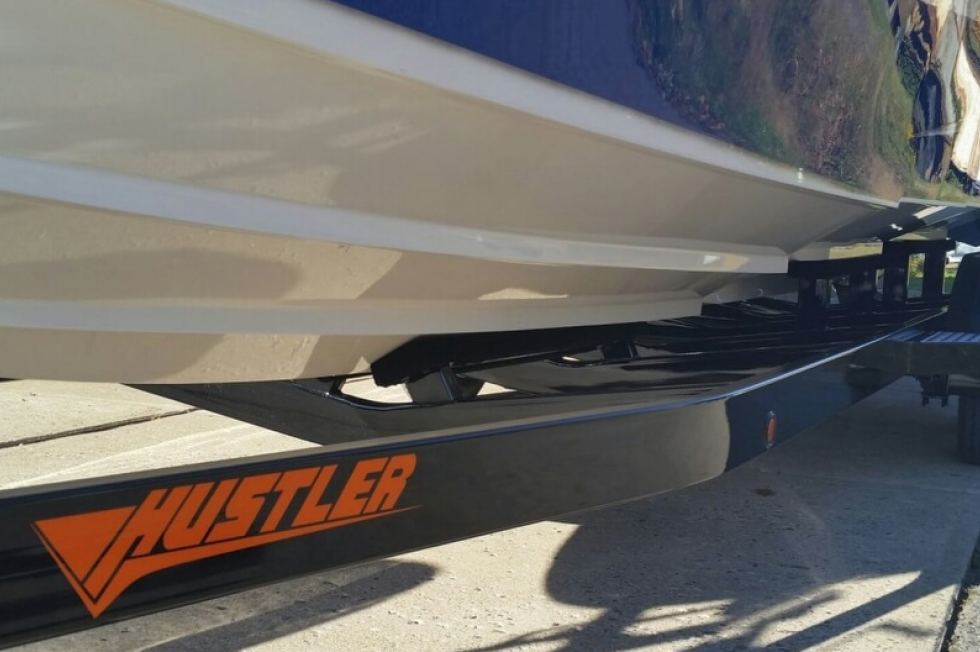2017 Hustler 29 Rockit MC Open Bow